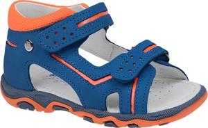 Niebieskie buty dziecięce letnie Bartek