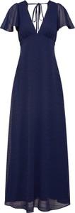 Sukienka Y.A.S z dekoltem w kształcie litery v z krótkim rękawem maxi