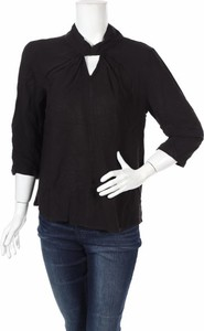 Czarna bluzka Only z długim rękawem w stylu casual