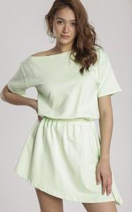 Zielona sukienka Renee oversize