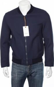 Granatowa kurtka Exibit w stylu casual