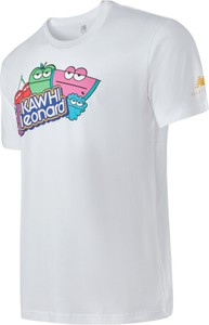 T-shirt New Balance z bawełny z krótkim rękawem