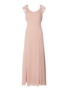 Różowa sukienka Vila bez rękawów maxi