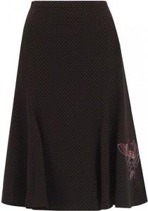 Czarna spódnica POTIS & VERSO z tkaniny midi