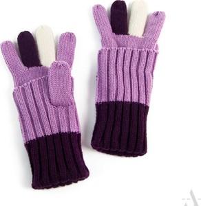 Fioletowe rękawiczki EVANGARDA
