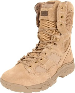 Brązowe buty zimowe 5.11 sznurowane