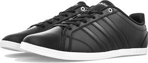 Czarne trampki Adidas sznurowane