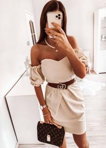Sukienka Pakuten z długim rękawem w stylu casual hiszpanka