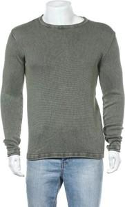 Sweter Rebel z okrągłym dekoltem w stylu casual