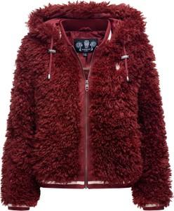 Czerwona kurtka Marikoo z plaru