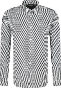 Koszula Emporio Armani w stylu casual z długim rękawem