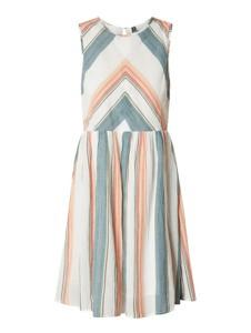 Sukienka YAS rozkloszowana z bawełny mini
