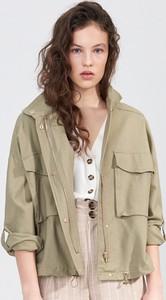 Zielona kurtka Sinsay w stylu casual
