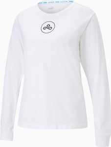 T-shirt Puma w sportowym stylu z bawełny
