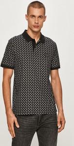 Koszulka polo Calvin Klein w młodzieżowym stylu z dzianiny z krótkim rękawem