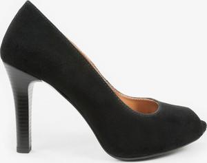 Czarne czółenka oleksy - producent obuwia