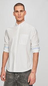 Koszula Calvin Klein z kołnierzykiem button down z bawełny