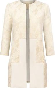 Płaszcz Marlu z wełny