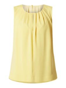 Żółta bluzka Hugo Boss w stylu casual