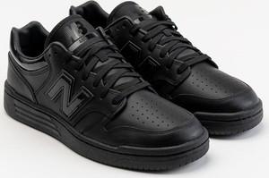 Buty sportowe New Balance ze skóry ekologicznej sznurowane