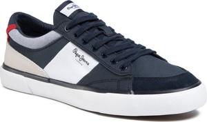 Pepe Jeans Tenisówki Kenton Sport PMS30601 Granatowy