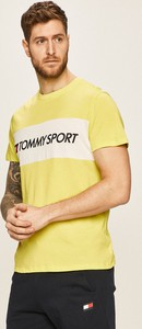 T-shirt Tommy Sport z bawełny