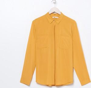 Żółta koszula Sinsay