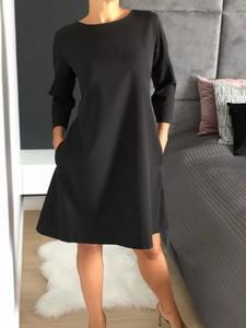 Czarna sukienka ModnaKiecka.pl mini