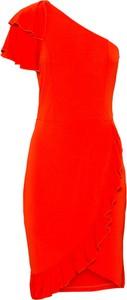 Sukienka bonprix BODYFLIRT boutique midi bez rękawów