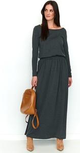 Sukienka Numinou z długim rękawem z okrągłym dekoltem