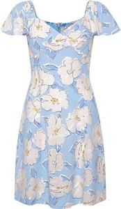 Niebieska sukienka ORSAY trapezowa