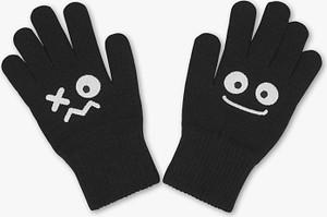 Czarne rękawiczki C&A