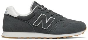 Buty sportowe New Balance z zamszu w młodzieżowym stylu