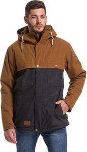 Brązowa kurtka Meatfly w stylu casual
