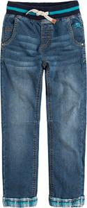 Niebieskie jeansy dziecięce Cool Club z tkaniny
