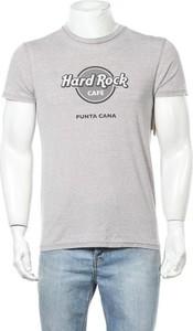 T-shirt Hard Rock w młodzieżowym stylu z krótkim rękawem