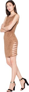 Brązowa sukienka Venaton mini
