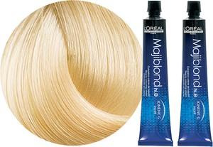 L'Oreal Paris Loreal Majirel Majiblond | Zestaw: trwała, rozjaśniająca farba do włosów - kolor 900S bardzo bardzo jasny blond 2x50ml - Wysyłka w 24H!