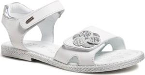 Buty dziecięce letnie Lasocki Young dla dziewczynek ze skóry na rzepy