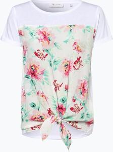 T-shirt Rich & Royal z szyfonu z krótkim rękawem