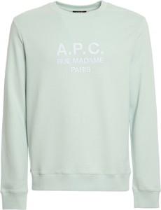 Niebieska bluza A.P.C. z bawełny