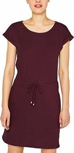 Sukienka amazon.de z okrągłym dekoltem z krótkim rękawem