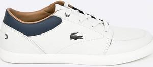 Błękitne buty sportowe Lacoste
