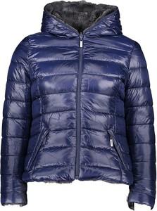 Niebieska kurtka Winter Selection w stylu casual