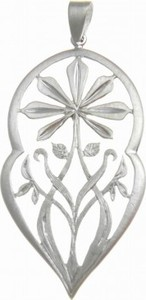Venus Galeria Etno design wisiorek satynowy