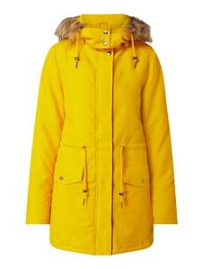 Żółta kurtka Vila w stylu casual