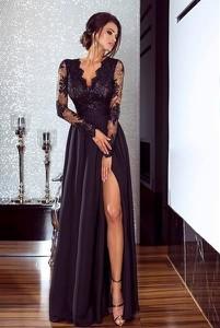 Sukienka Emo Sukienki maxi z długim rękawem