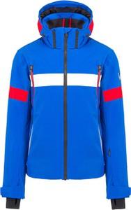 Niebieska kurtka Toni Sailer z tkaniny