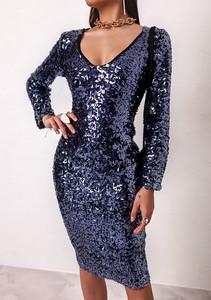 Niebieska sukienka Latika