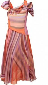 Sukienka POTIS & VERSO z krótkim rękawem